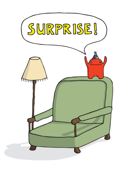Image of SURPRISE - Card