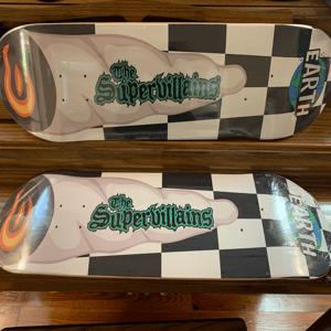 Image of Earth skate deck