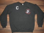 "Image of ""Big Boy Club"" Crewneck Sweaters (Jet Black/Fire Red/Blind White)"