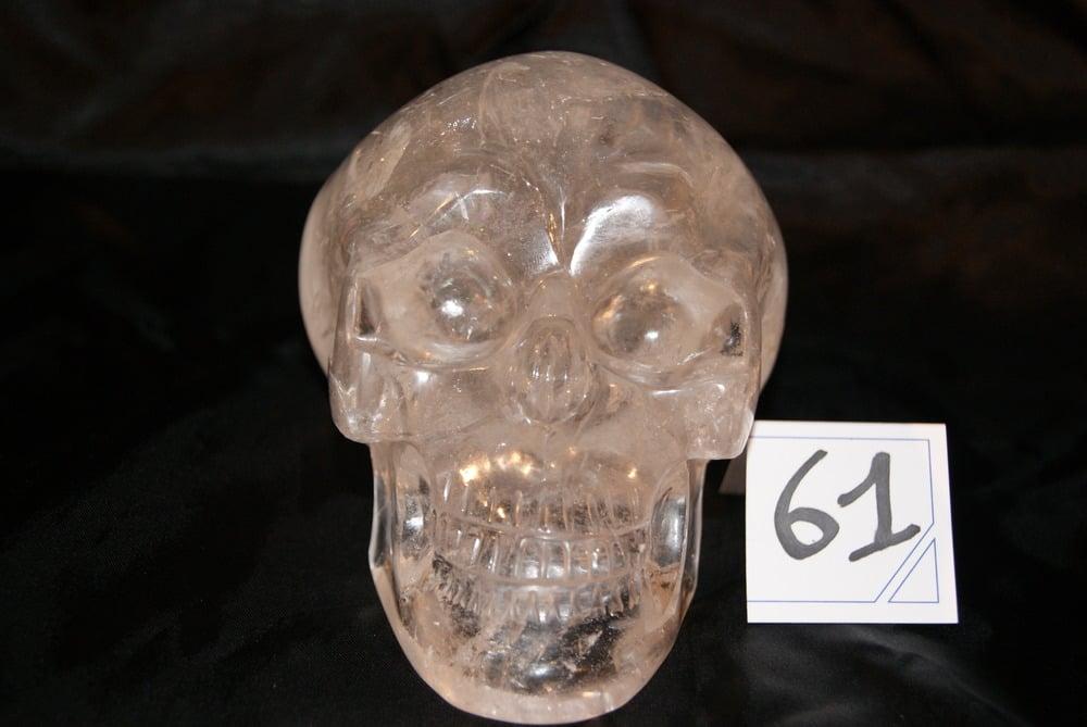 Image of Crâne Cristal de Quartz de 1,270 kg
