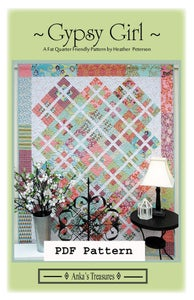 Image of PDF Gypsy Girl Pattern