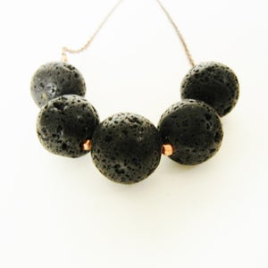 Image of Lava Rock Necklace