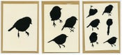 Image of hand made bird greeting cards (3pk)