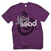 Image of Logo/Snake - Purple Tee