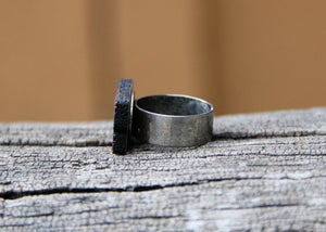 Image of Personalized Wood Name Ring