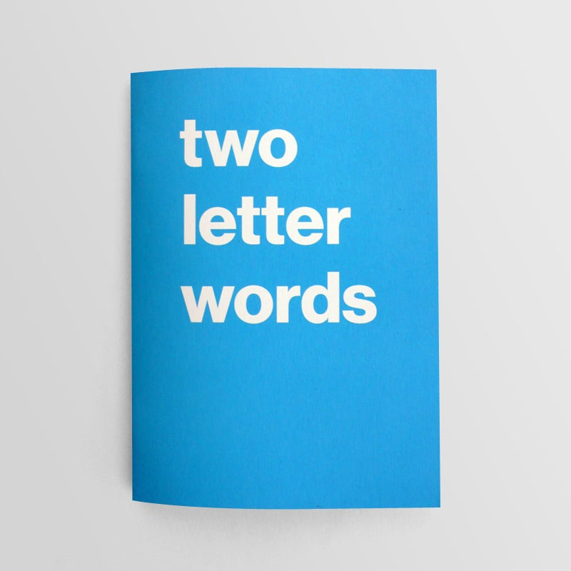 Image of Two Letter Words, Alex Fuller