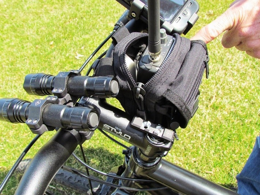 Image of MED TACTICAL BAG -- HANDLEBAR OR SEATPOST