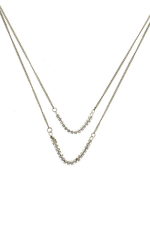 Image of Double Link Necklace