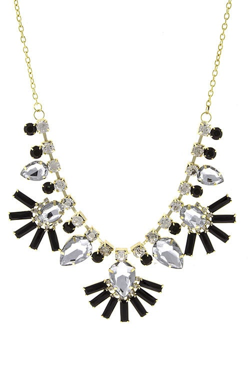 Image of Sparkle Burst Statement Necklace