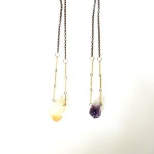 Image of Raw Gemstone Necklace