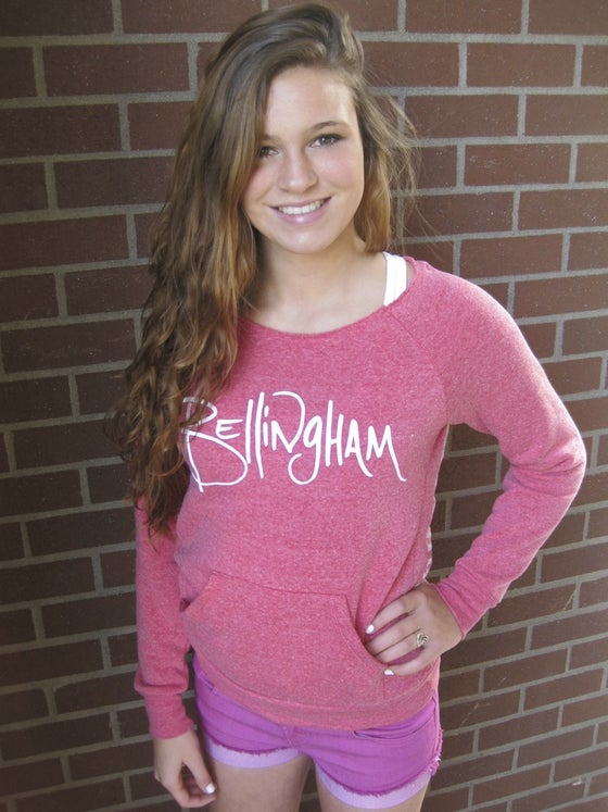 Image of Ladies Bellingham U-Neck Crew Sweatshirt