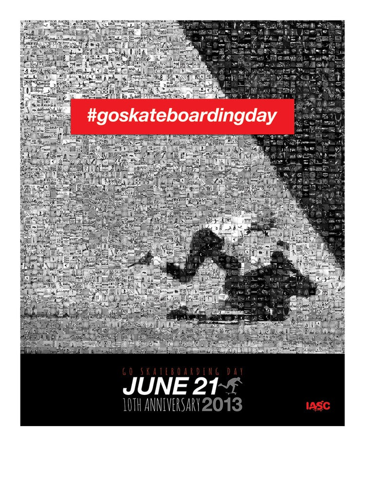 Image of 2013 Go Skateboarding Day Poster