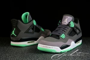 "Image of Air Jordan 4 ""Green Glow"" Pre-Order"