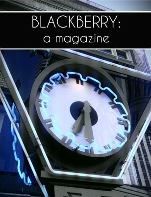 "Image of BLACKBERRY: a magazine, Vol. 2, Issue 1, ""Time"""