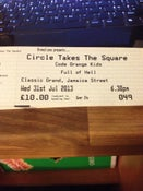 Image of Ticket for: Circle Takes the Square / Code Orange Kids / Full of Hell / TCPiG / Sectioned