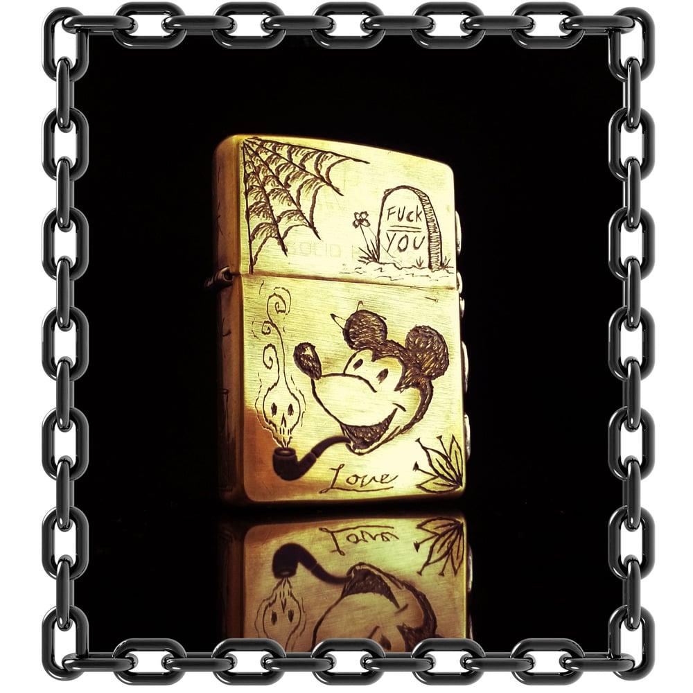 Image of ZipPotash Trench Art Lighter #3