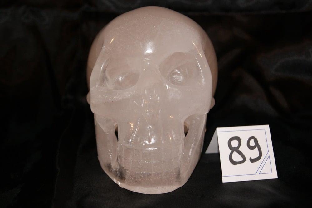 Image of Crâne Cristal de Quartz 1,930 kg