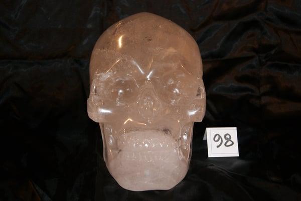 Image of Crâne Cristal de Quartz 7,340 kg