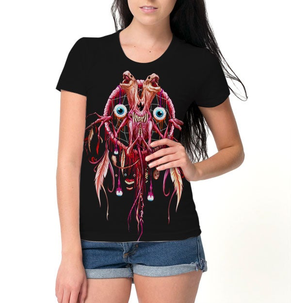 Image of The Dream Gobbler | Alex Pardee | Girly Shirt