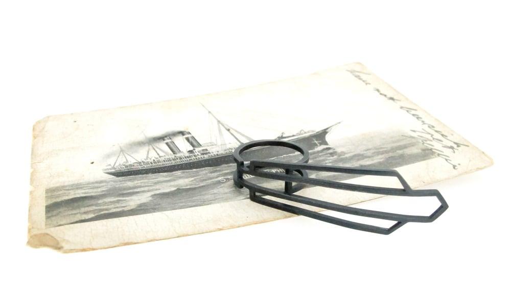 Image of Nautilus Deco ring