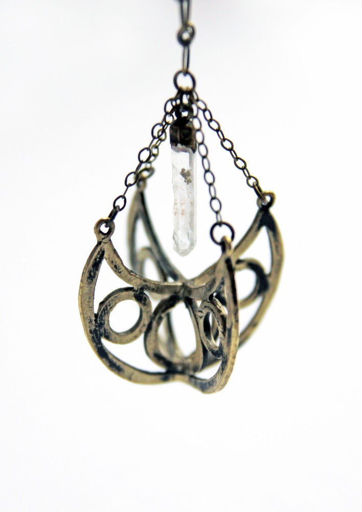 Image of Hallowed Ground Orb Necklace