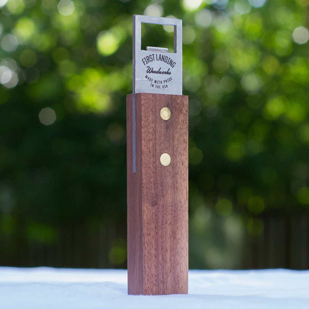Image of Original Black Walnut Bottle Opener