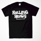 Image of ROLLING HEAVY MAGAZINE LOGO SHIRT