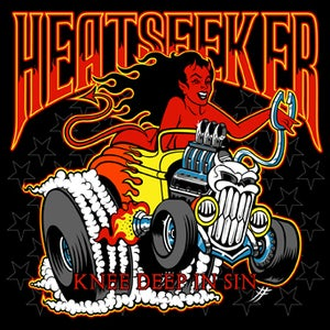 Image of SR12: HEATSEEKER 'Knee Deep in Sin' CD