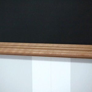 Small Chalkboard with Narrow Frame