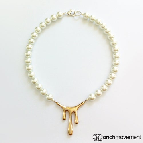 Image of Dripping Pearl Necklace