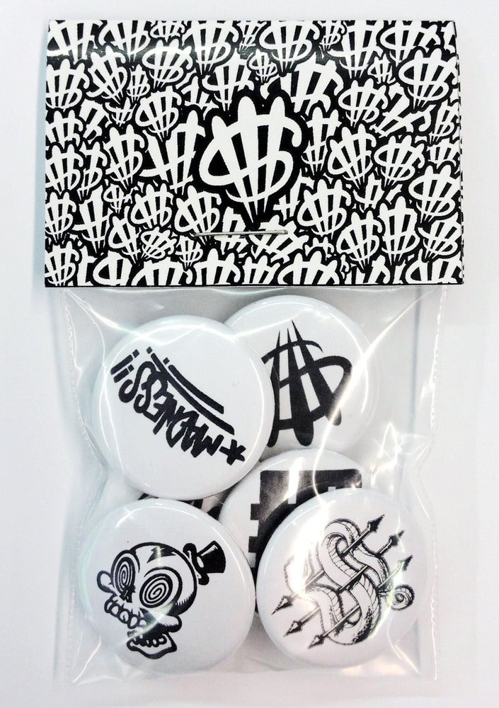 Image of Button Pack White