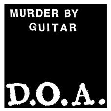 "Image of Murder By Guitar ""D.O.A."" 7"" EP"