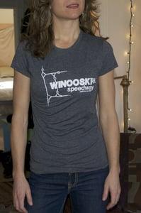 Image of Women's Winooski Speedway Tee Shirt - Short Sleeve