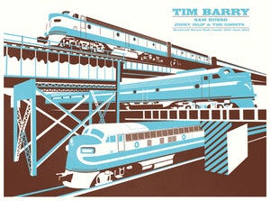 Image of Tim Barry Silkscreen Poster