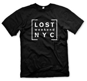 Image of LOST WEEKEND LOGO T