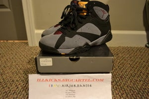 Image of VNDS Air Jordan Retro VII Bordeaux Sz 10.5
