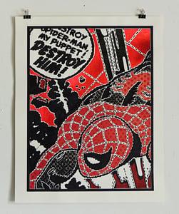 Image of Destroy Him! (Red and Black)