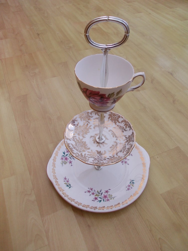 Image of Vintage China Cake Stand