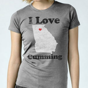 Image of I Love Cumming - Women's Tee