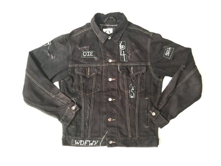 Image of vintage FTW denim jacket