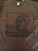 Image of Negative Desire - Brown Tee