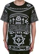 Image of black hieroglyh
