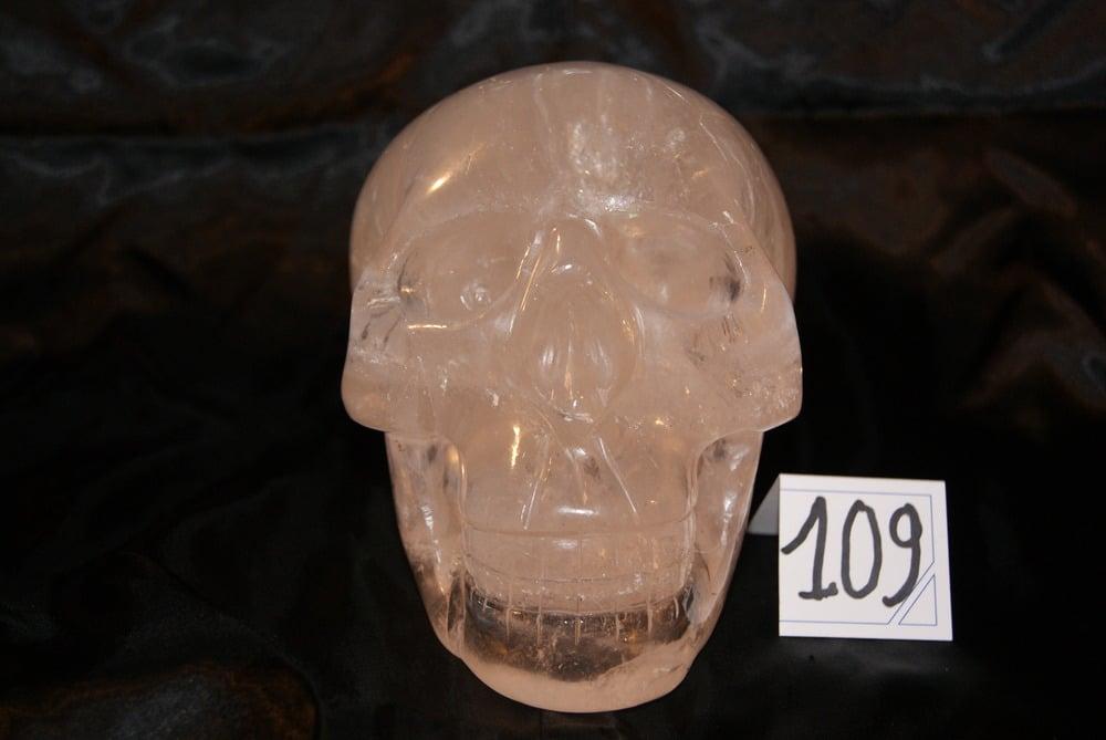 Image of Crâne Cristal de Quartz 2,960 kg