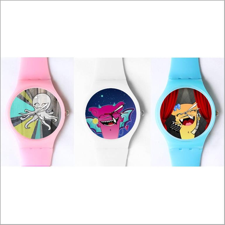 Image of custom watch