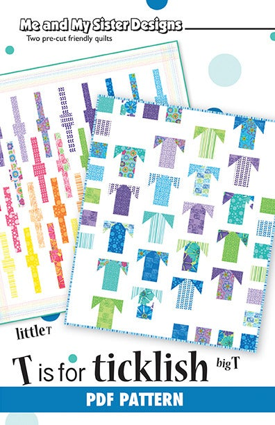 Image of T is for Ticklish PDF pattern
