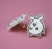 Image of lil hamster earrings