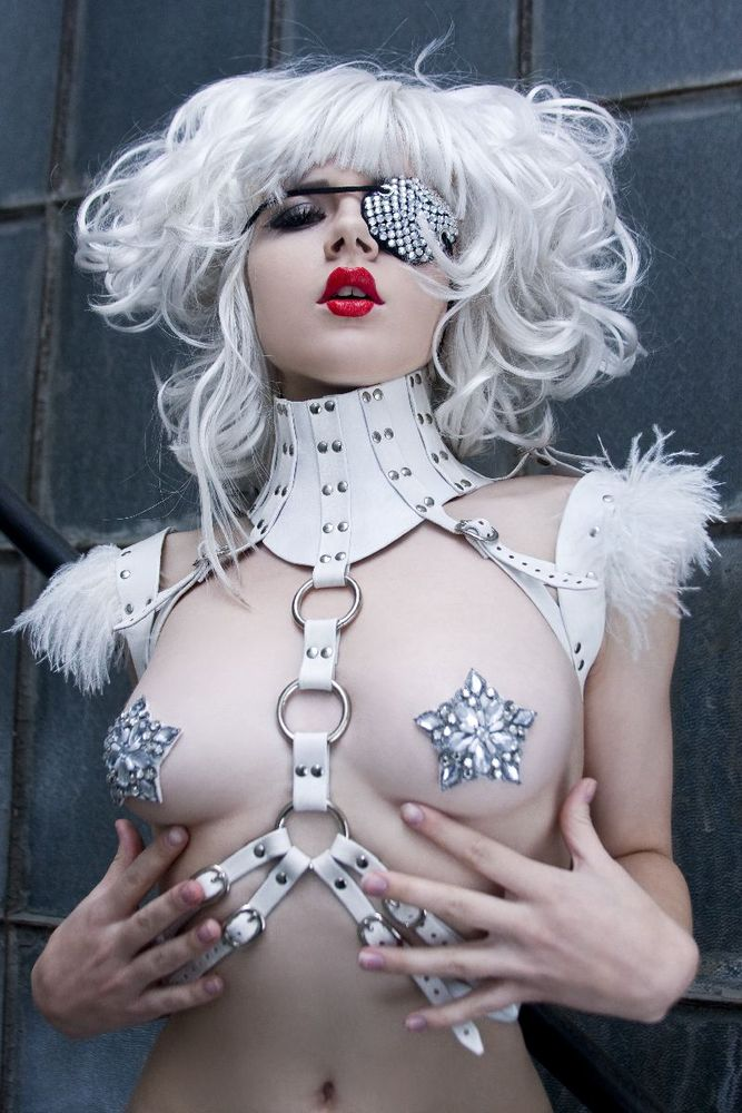 Image of Sima Leather Harness From Antiseptic Fashion