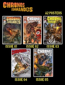 Image of Chronos Commandos A2 cover posters