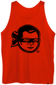 Image of Plate Practice Jersey (roger): Black/ Red