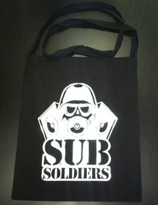 Image of Subsoldiers Black Tote Bag